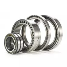 75 mm x 105 mm x 19 mm  NKE NCF2915-V cylindrical roller bearings